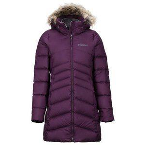 Marmot Montreal Women Down Coat - XS - Dark Purple